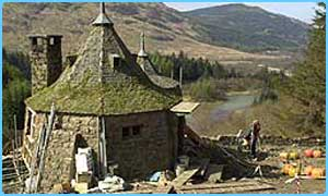 Hagrid's hut in Glencoe