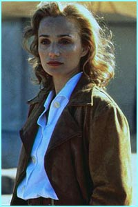 Posh actress Kristin Scott Thomas hit the big time in The English Patient
