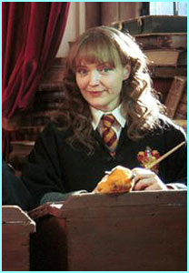 Miranda Richardson actually played Hermione in this Comic Relief Potter spoof!