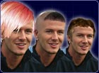 Send us your design for a new haircut for Becks and win a signed Match of the Day football.