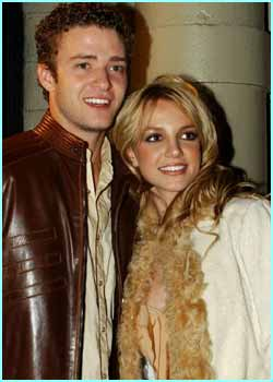 jt and britney spears dating history