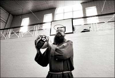 Brother Nicholas, a lifelong basketball fan, decided to set up coaching sessions for local boys. Rule 1: No swearing