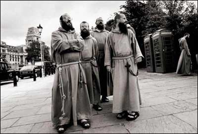 The Gray Friars, six Franciscan monks from the Bronx, have set up a mission in one of the poorest areas of London's East End