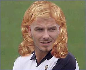 Will this be the next look to grace Becks' head?