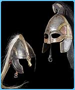 Warrior helmets from Lord of the Rings