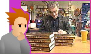 Eoin Colfer, the man who wrote Artemis Fowl