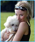 It-girl Tamara Beckwith with Baltharzar - do they look similar?