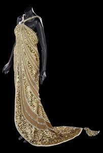 One of Dame Shirley Bassey's dresses (picture from Christie's)