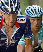 Lance Armstrong y Jan Ullrich.