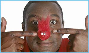 Red Nose Day host Lenny Henry