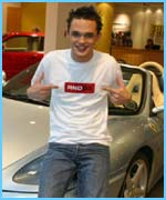 Celeb Driving School - Gareth failed his test!