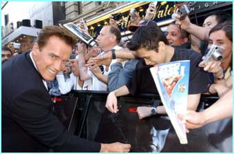 Arnie made time for the fans