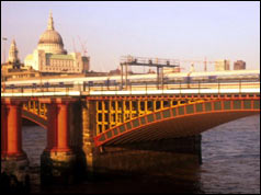 Blackfriars Bridge, London