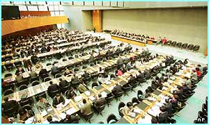 World Trade Organisation in 2000 at Geneva, Switzerland