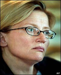 Anna Lindh in May 2003