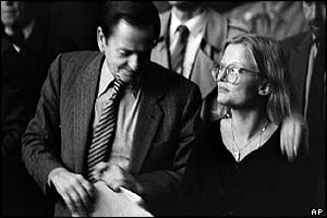 Olof Palme and Anna Lindh in 1984