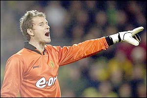 Arsenal's Jens Lehmann in action from
