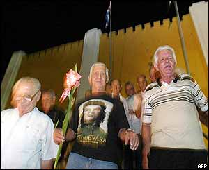Veterans of the revolution in Santiago de Cuba