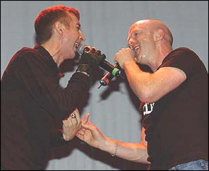 Marc Almond and Jimmy Somerville