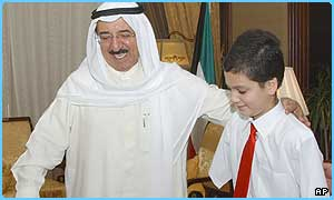 Ali met the Prime Minister of Kuwait on Saturday