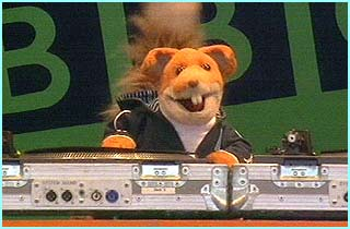 Who's this? Basil Brush even put in a performance!