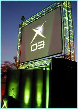 The Xbox XO3 event was launched in the South of France