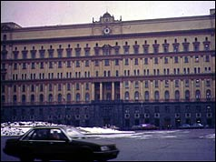 KGB Headquarters in Moscow