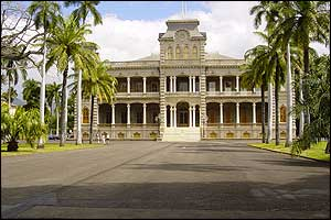 Iolani Palace, in Honolulu