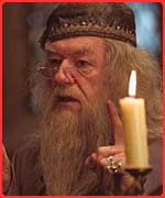 Sir Michael Gambon is the new Dumbledore