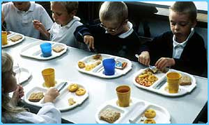 School dinners are being attacked again