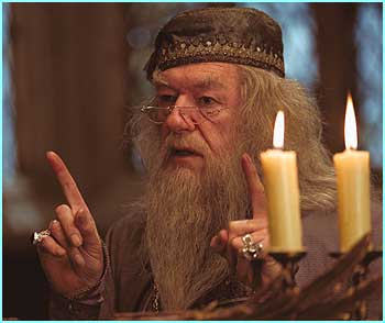 Here's the first look at the new Professor Dumbledore, British actor Sir Michael Gambon