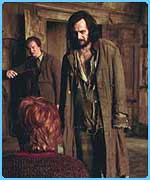 Sirius Black and Remus Lupin appear in the new film