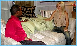 Geri Halliwell talks to Lizo