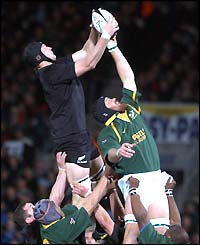 New Zealand triumph in the lineout