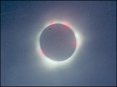 Andrew Wood's eclipse photograph