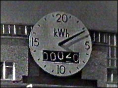 Nuclear power clock