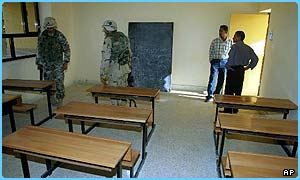 Loads of schools have been repared in Iraq