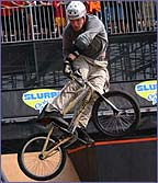 Alistair Whitton won gold in the ramp/park competition at the X-Games in 2002 (copyright: Shazamm/ESPN)