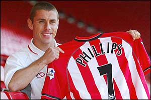 Kevin Phillips leaves Sunderland and rejoins Southampton in a £3.25m deal