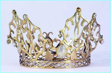 Posh's wedding tiara goes on sale in an internet auction