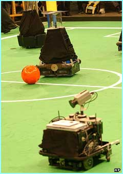 The robot football world cup is underway