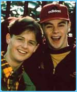 Ant and Dec in their Byker Grove days