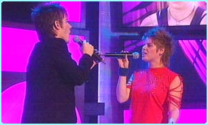 And of course a final duet with each other
