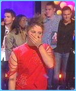 Alex was shocked to be named the winner