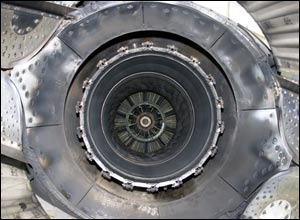 One of Concorde's four Rolls Royce/ SNECMA Olympus 593-610 engines