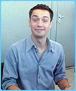 Christian Coulson is Tom Riddle