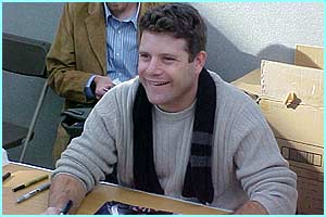 Sean Astin (Samwise) loved meeting all the Rings fans