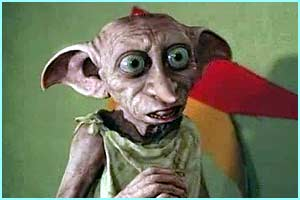 And just in case you'd forgotten - here's Dobby as we know and love him