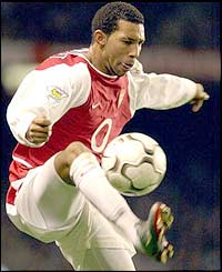 Arsenal's Jermaine Pennant