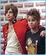 Fame Academy's Peter and Alex